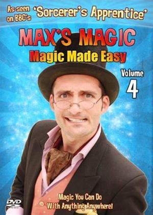 Rent Max's Magic: Magic Made Easy: Vol.4 Online DVD Rental