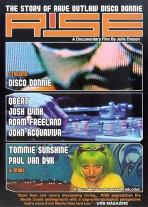 Rise: The Story of Rave Outlaw Disco Donnie Online DVD Rental