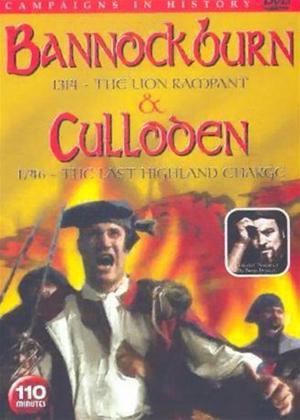 Rent Bannockburn: 1314 / Culloden: 1746 Online DVD Rental