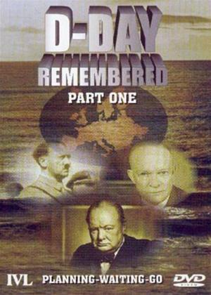 D-Day Remembered: Part 1: Planning, Waiting, Go Online DVD Rental