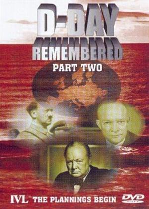 D-Day Remembered: Part 2: The Plannings Begin Online DVD Rental