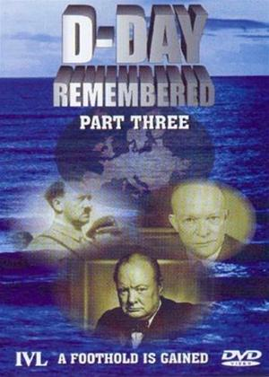 D-Day Remembered: Part 3: A Foothold Is Gained Online DVD Rental