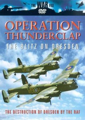 Rent Operation Thunderclap: The Blitz on Dresden Online DVD Rental