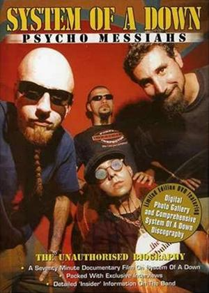 Rent System of a Down: Psycho Messiahs: The Unauthorised Biography Online DVD Rental