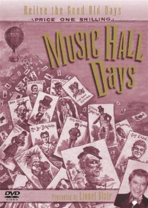Rent Music Hall Days Online DVD Rental