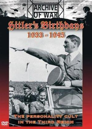Rent Hitler's Birthdays 1933 to 1945 Online DVD Rental