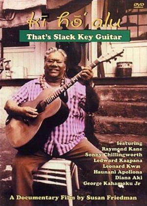 Rent Ki' Ho'Alu: That's Slack Key Guitar Online DVD Rental
