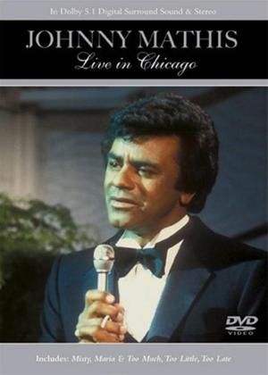 Rent Johnny Mathis: Live in Concert Online DVD Rental