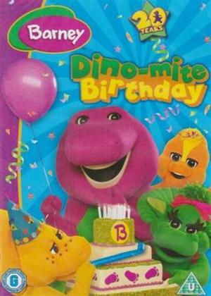 Rent Barney: Dino-mite Birthday Online DVD Rental