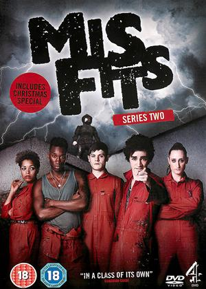 Rent Misfits: Series 2 Online DVD Rental