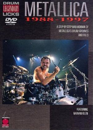 Rent Legendary Drum Licks: Metallica 1988-97 Online DVD Rental