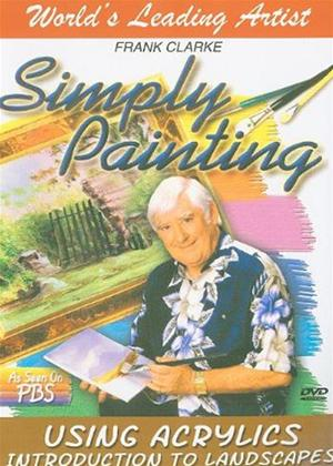 Rent The Simply Painting: Introduction to Landscapes Acrylics Online DVD Rental