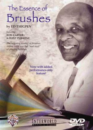 Rent Ed Thigpen: The Essence of Brushes Online DVD Rental