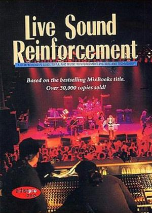Rent Live Sound Reinforcement Online DVD Rental