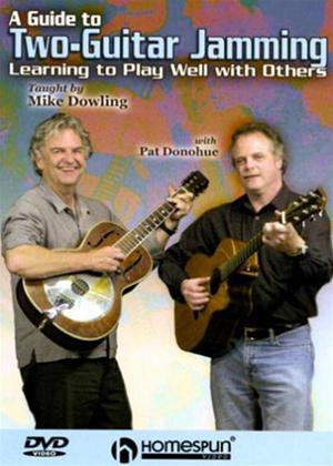 Rent Guide to Two-Guitar Jamming Online DVD Rental