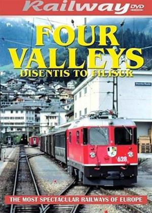 Four Valleys: Disentis to Filsur Online DVD Rental
