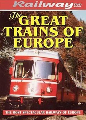 The Great Trains of Europe Online DVD Rental