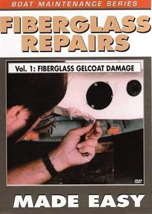 Fibreglass Repairs Made Easy: Vol.1: Fiberglass Gelcoat Damage Online DVD Rental