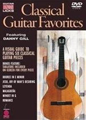 Classical Guitar Favorites: Legendary Licks Online DVD Rental
