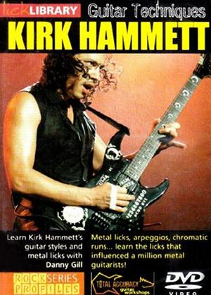 Rent Kirk Hammett Guitar Techniques Online DVD Rental