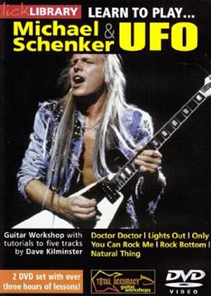 Rent Learn to Play: Michael Schenker and UFO Online DVD Rental