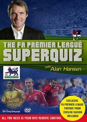 The FA Premier League Interactive Superquiz 2007 with Alan Hansen Online DVD Rental
