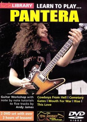 Rent Learn to Play Pantera Online DVD Rental