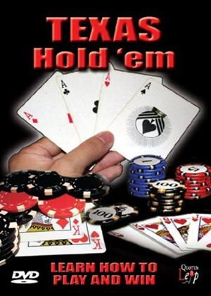 Texas Hold 'Em Poker: Learn How to Play and Win Online DVD Rental