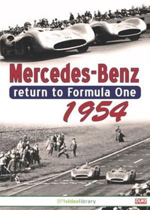 Mercedes Benz Return to Formula One 1954 Online DVD Rental