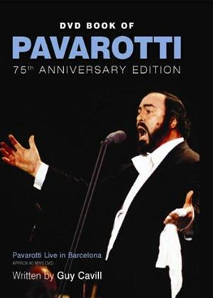Rent DVD Book of Pavarotti: 75th Anniversary Edition Online DVD Rental