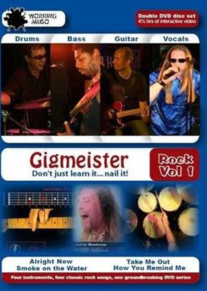 Gigmeister Rock: Vol.1 Online DVD Rental