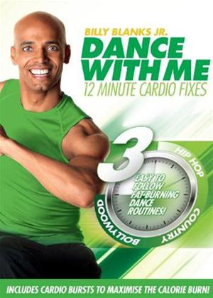 Billy Blanks Jr: Dance with Me: 12 Minutes Cardio Fix Online DVD Rental