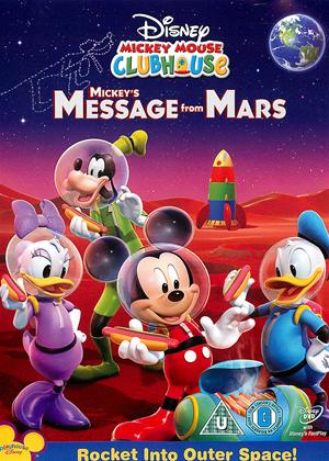 Rent Mickey Mouse Clubhouse: Mickey's Message from Mars Online DVD Rental