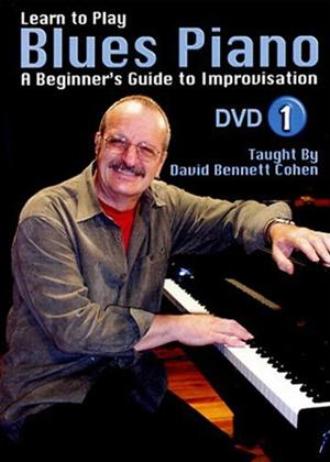 Rent Learn to Play: Blues Piano: Lesson 1 Online DVD Rental
