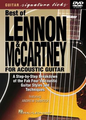 Rent The Best of Lennon and McCartney for Acoustic Guitar Online DVD Rental