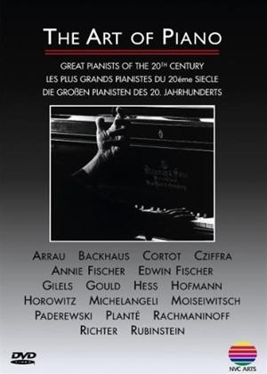 Rent The Art of Piano: Great Pianists of the 20th Century Online DVD Rental