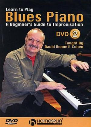Rent Learn to Play: Blues Piano: Lesson 2 Online DVD Rental