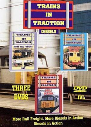 Trains in Traction Diesels Online DVD Rental