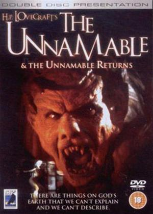 Rent The Unnamable / The Unnamable Returns Online DVD Rental