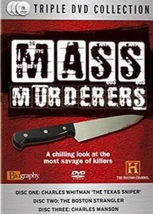 Mass Murderers Online DVD Rental