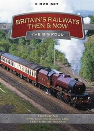 Britain's Railways Then and Now: The Big Four Online DVD Rental