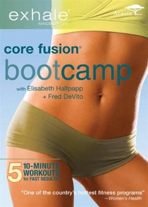 Exhale: Core Fusion Bootcamp Online DVD Rental