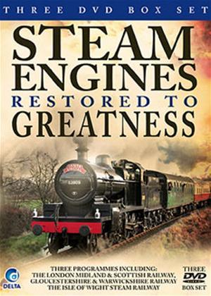 Steam Engines Restored to Greatness Online DVD Rental