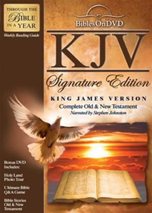 King James Version Signature Edition Bible Online DVD Rental