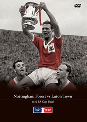 Rent Nottingham Forrest V Luton Town 1959 FA Final Online DVD Rental