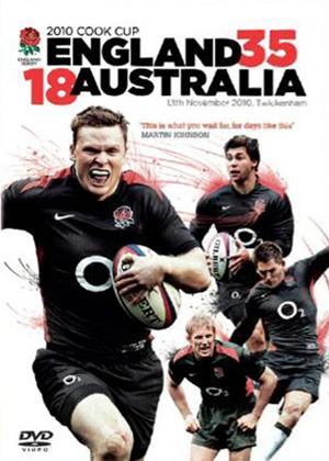 2010 Cook Cup: England 35 Australia 18 Online DVD Rental