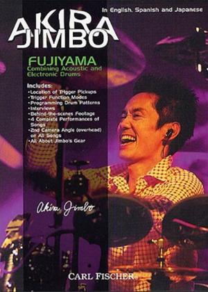 Akira Jimbo: Fujiyama: Combining Acoustic and Electronic Drums Online DVD Rental