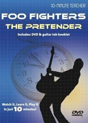 10 Minute Teacher: Foo Fighters: The Pretender Online DVD Rental