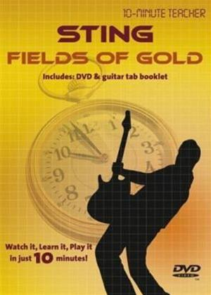 10 Minute Teacher: Sting: Fields of Gold Online DVD Rental