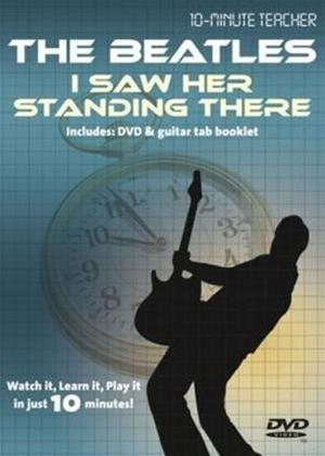 Rent 10 Minute Teacher: The Beatles: I Saw Her Standing There Online DVD Rental